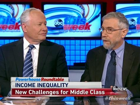 Paul Krugman, Bill Kristol Debate Income Inequality