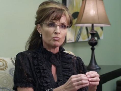 Palin to GOP Establishment: 'Get with It and Join Those Tea Party Patriots'