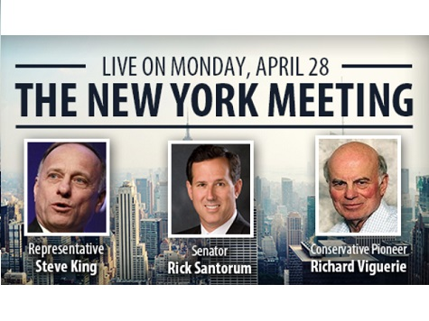 Watch: Live Stream The New York Meeting