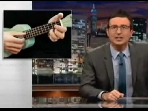 John Oliver Hammers ObamaCare on New Show