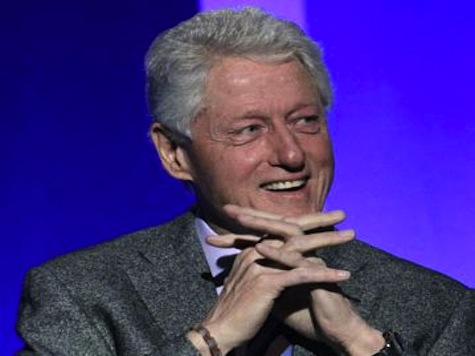 Bill Clinton: Can't 'Mess Up Too Much,' 'Wife Might Run for Something'