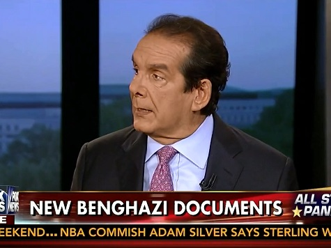 Krauthammer: Benghazi Emails Reveal 'Classic Cover-Up,' 'Serious Offense'
