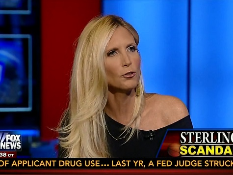 Coulter: Why Are We Acting Shocked About 'Disgusting Manatee' Donald Sterling?