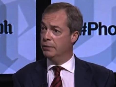 UKIP Leader Nigel Farage Rails Against Plain Cigarette Packaging