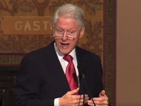 Bill Clinton: 'I Thank God Every April 15' I Get to Pay More Taxes