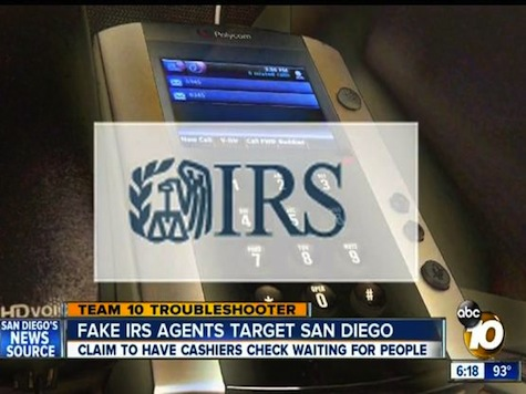 Fake IRS Agents Target San Diego