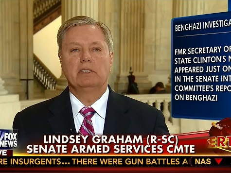 Lindsey Graham: Obama 'Virtually AWOL as a Commander-in-Chief'