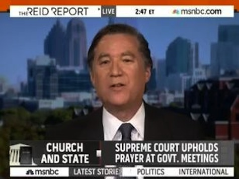 Law Professor on MSNBC: 'Forget the Constitution,' Do What's Right and Not Pray in Public