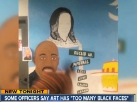 Controversy Erupts Over Complaints San Diego Police Station Mural Has Too Many 'Black Faces'