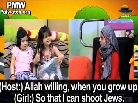 Hamas TV Tells Young Children to Shoot All the Jews