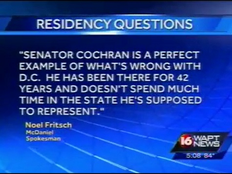 Jackson, MS ABC Affiliate Raises Questions About Thad Cochran's Residency