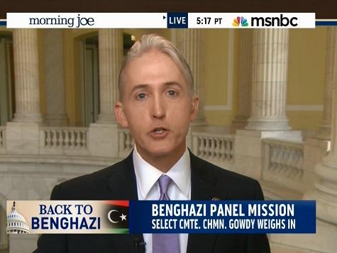 Gowdy Vows Fair Benghazi Hearing Despite Bad Haircut, Mismatched Suit