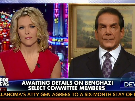 Krauthammer: Benghazi Select Committee 'Very Dangerous Political Waters' for GOP
