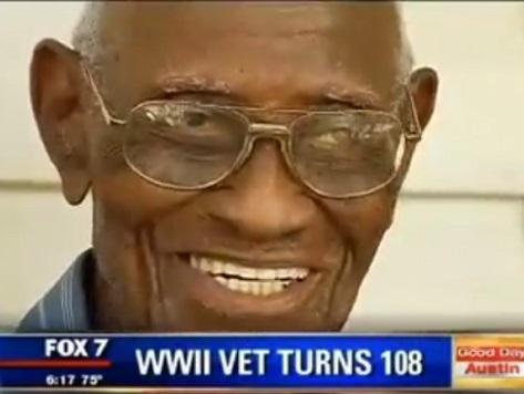 Oldest Living WWII Vet Turns 108