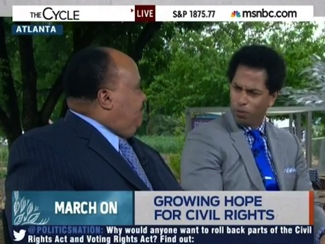 MLK III: Blacks Should Engage Tea Party; MSNBC's Touré Neblett Shocked