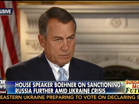 Boehner: House Won't Arrest IRS's Lerner