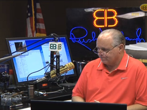 Limbaugh: Hillary Didn't Declare Boko Haram a Terrorist Group 'Because They're Black'