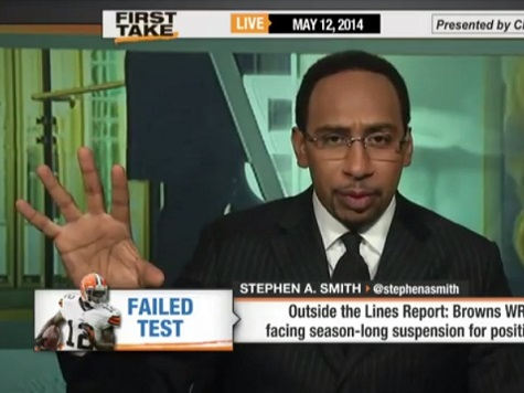 ESPN's Stephen A. Smith: I Respect Those Who Don't Want Michael Sam Kissing 'in Their Face'