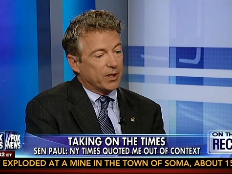 Rand Paul Urges GOP Not to Be 'Tone Deaf' on Voter ID