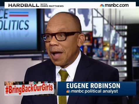 WaPo's Robinson: Coulter, Will, Hume 'Idiots' for Mocking #BringBackOurGirls Campaign