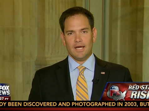 Rubio: 'I Would Line Up My Resume' Against Obama's When He Ran for President