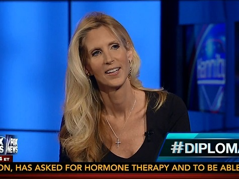 Ann Coulter: 'How About Michelle Obama Have #ImMarriedToAnIdiot?'