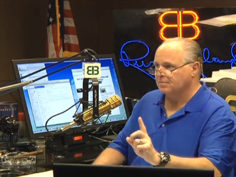 Limbaugh: Dems Will Insulate Clinton from Criticism by Crying Sexism Like They Cried Racism for Obama