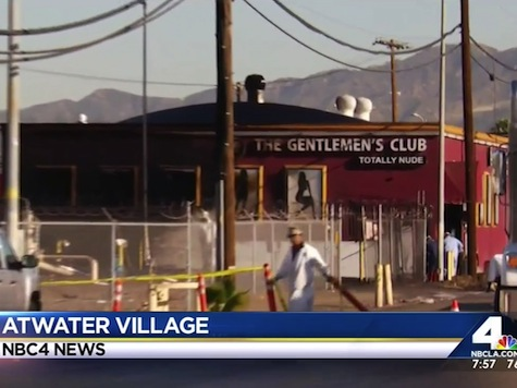 Atwater Village Strip Club Becomes Crude After Oil Spill