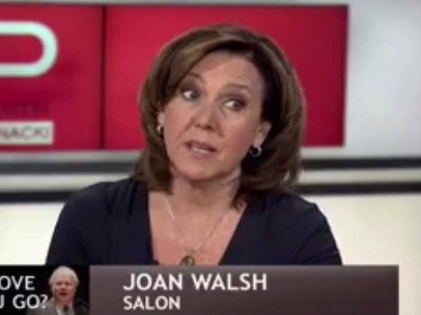 Joan Walsh Asks Why MSNBC 'Covers Dumb Stuff Like Sarah Palin?'