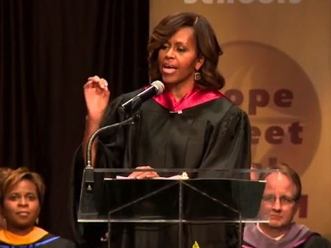 Michelle Obama: Sixty Years After Desegregation 'Folks Still Hold The Old Prejudices'