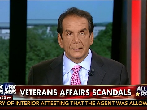 Krauthammer Proposes Voucher System to Cure VA Woes