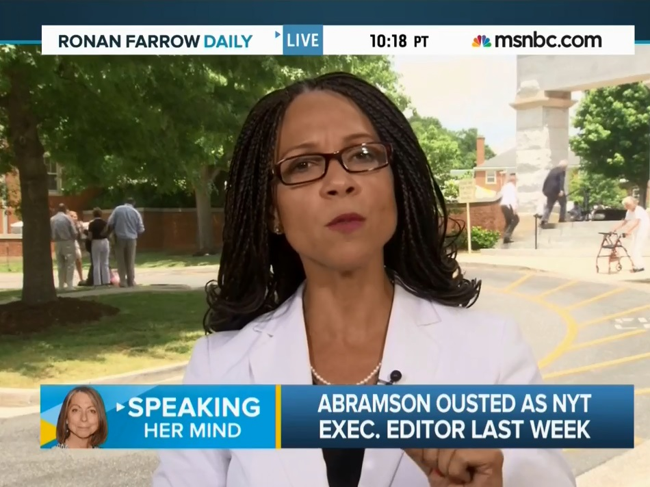 MSNBC's Harris-Perry: Abramson Firing Can Be Based on Merit, Sexist — Just Like Obama Criticism
