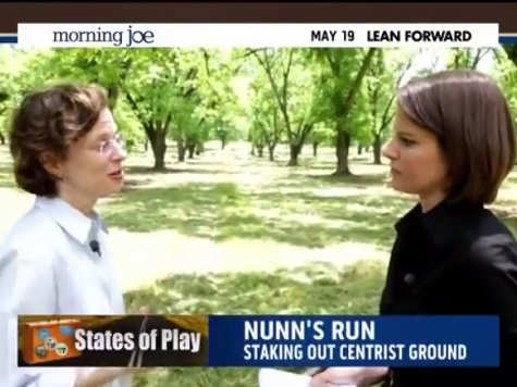 Georgia Dem Senate Hopeful Nunn Dodges ObamaCare Question
