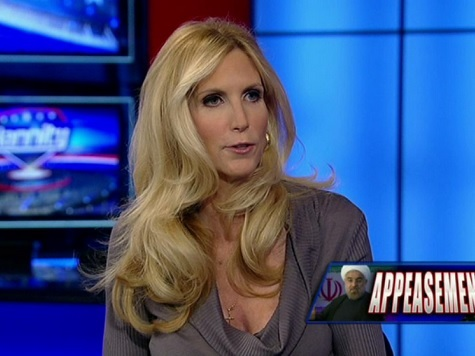 Coulter Likens Boehner to 14-Year-Old Masturbating Boy on Immigration Issue