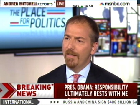 'The Confidence Is Lost': Chuck Todd Criticizes Obama's Disconnect on VA Scandal