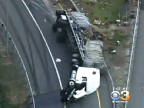 Delaware Highway Stung After Big Rig Carrying Bees Crashes