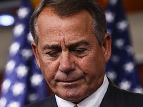 Boehner: 'We've Not Just Let Them Down, We've Let Them Die'