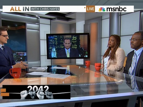 Ben Carson Takes on MSNBC on Race