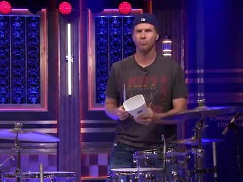 Will Ferrell Revives Cowbell in Drum-Off with Red Hot Chili Peppers Chad Smith