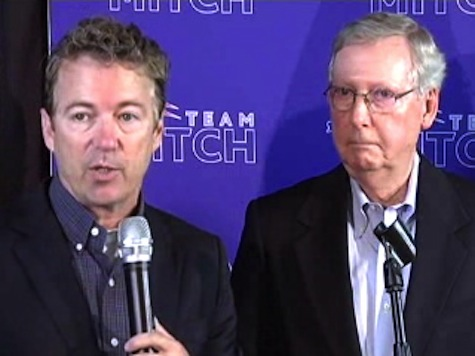 Rand Paul Pledges Supports Mitch McConnell to Unite GOP