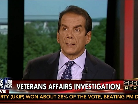 Krauthammer: Chances of Democrats Learning Lesson from VA Scandal Are 'Zero'