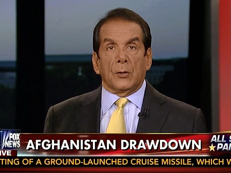 Krauthammer: Obama's Afghanistan Announcement 'An Act of Personal Narcissism'