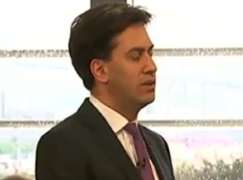 Labour Leader Ed Miliband Talks Bacon Sandwiches