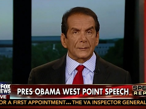 Krauthammer: Obama West Point Speech 'Literally Pointless'