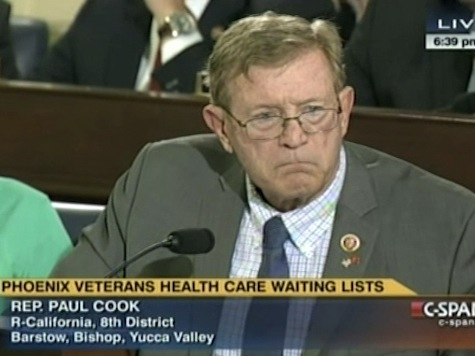 Retired Colonel GOP Rep Brought to Tears During VA Hearing