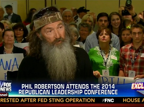 Phil Robertson on Dems: Party of 'Endorsing Perversion,' Ripping Babies out of Mother's Wombs
