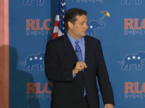 Ted Cruz: GOP Reaping Fruits of Last Year's Anti-ObamaCare Gov't Shutdown