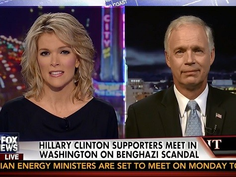 Ron Johnson: Hillary Felt Culpable for Benghazi, But Not Taking Responsibility