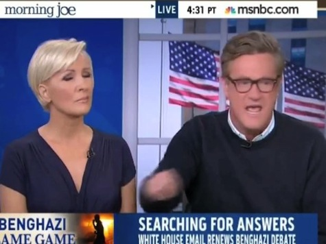 Scarborough Loses it Over WH Cover-Up: 'Everybody Watching Knows It's About Benghazi'