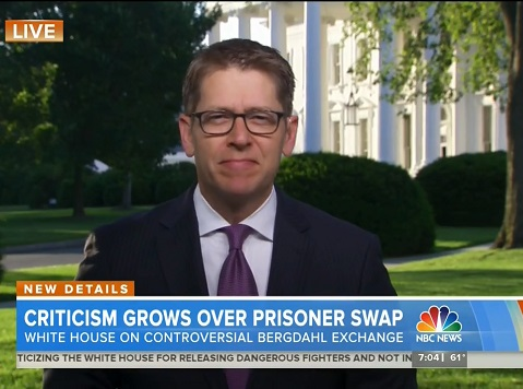 Matt Lauer Grills Jay Carney over Hostage Swap